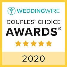 Awards Icon for 2020 5 Stars Best Wedding Site Wedding Wire